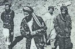 Bin Laden in Afghanistan, around 1988.